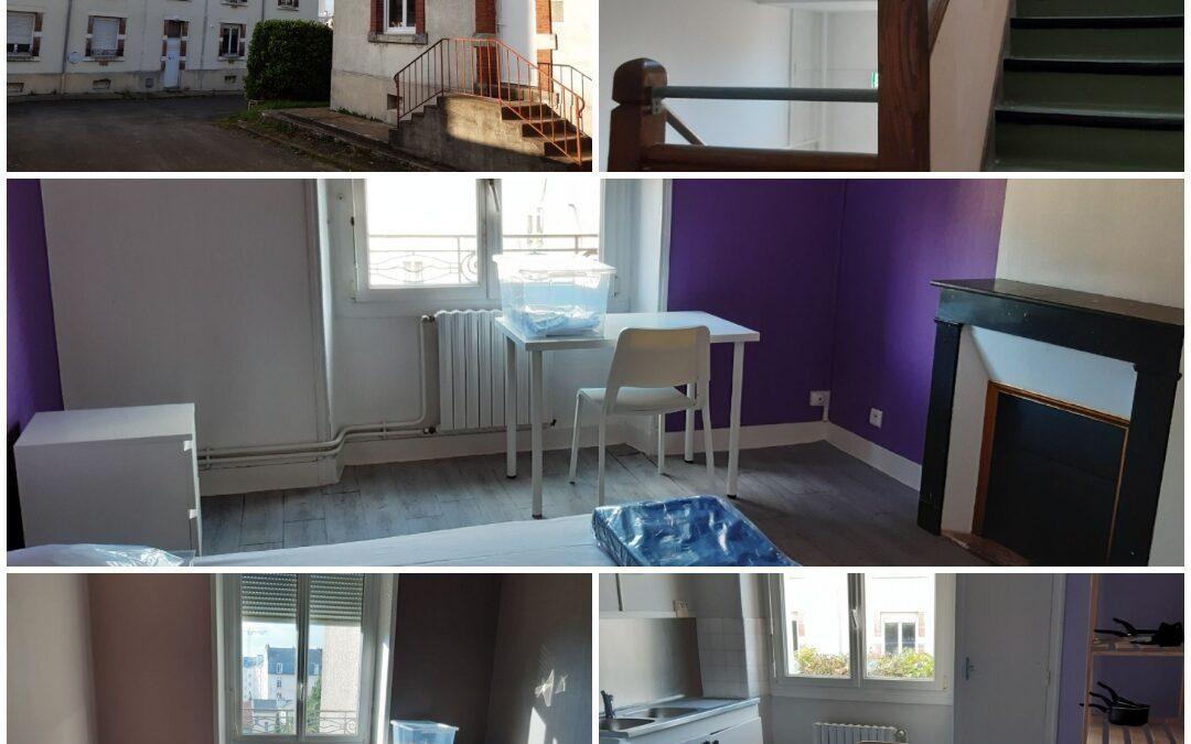 A Nantes, Habitat 44 a réalisé un centre d'hébergement en faveur des réfugiés
