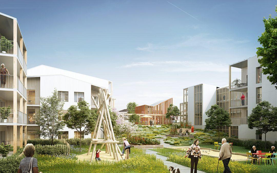 Bientôt, une nouvelle résidence seniors à Couëron